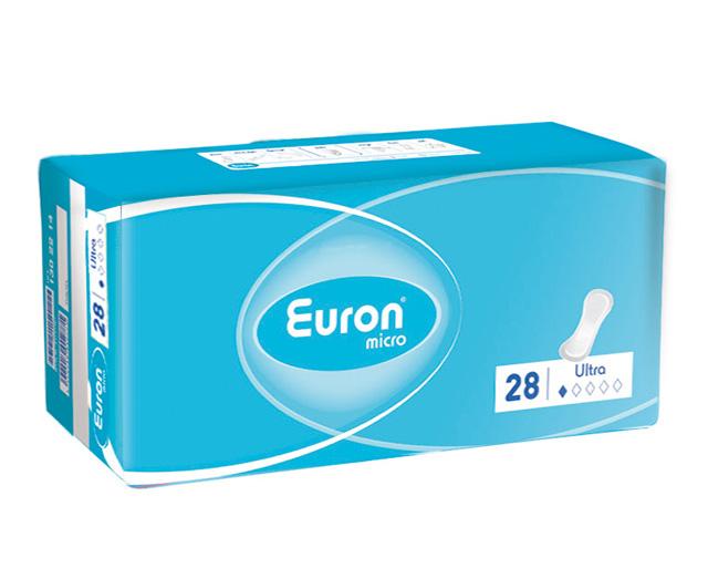 Euron Послеродовые и урологические прокладки Micro Ultra 28 шт.