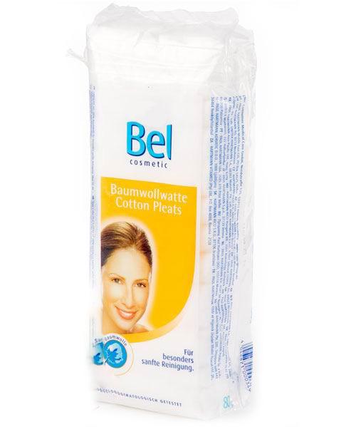 Hartmann Bel Cosmetic Вата 80 гBel Cosmetic Вата 80 гВата Bel Cosmetic 100% хлопок 80 гр.  Мягкая и эластично объёмная вата Подходит для снятия косметики и ухода за лицом и телом, уложена зигзагообразно В гигиеническом мешочке, практично затягивающемся двойной нитью  Состав: 100% хлопок<br>