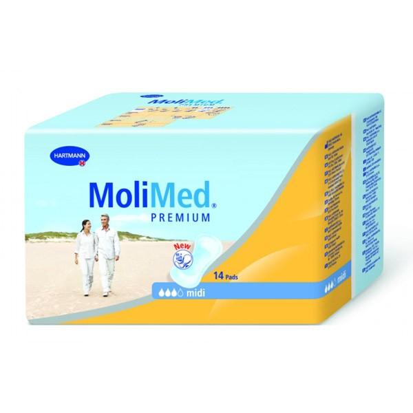 Hartmann Molimed Premium Midi Урологические прокладки 14 шт.