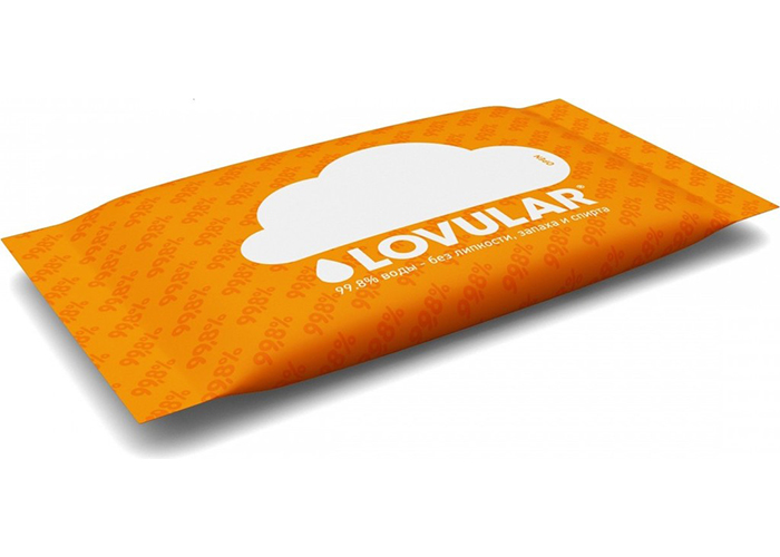 Lovular Детские влажные салфетки 10 шт.
