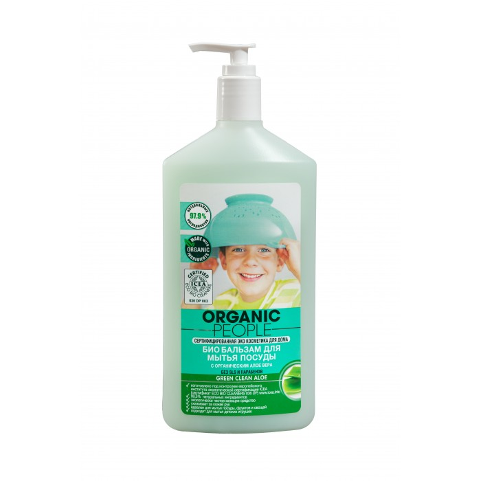 Organic People �������-��� ��� ����� ������ Green Clean Aloe 500 ��