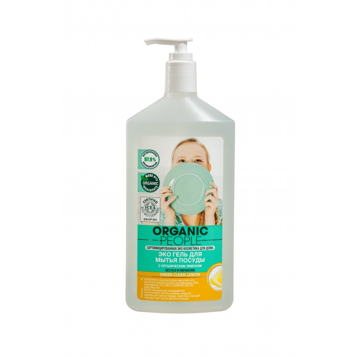 Organic People ���-���� ��� ����� ������ Green Clean Lemon 500 ��