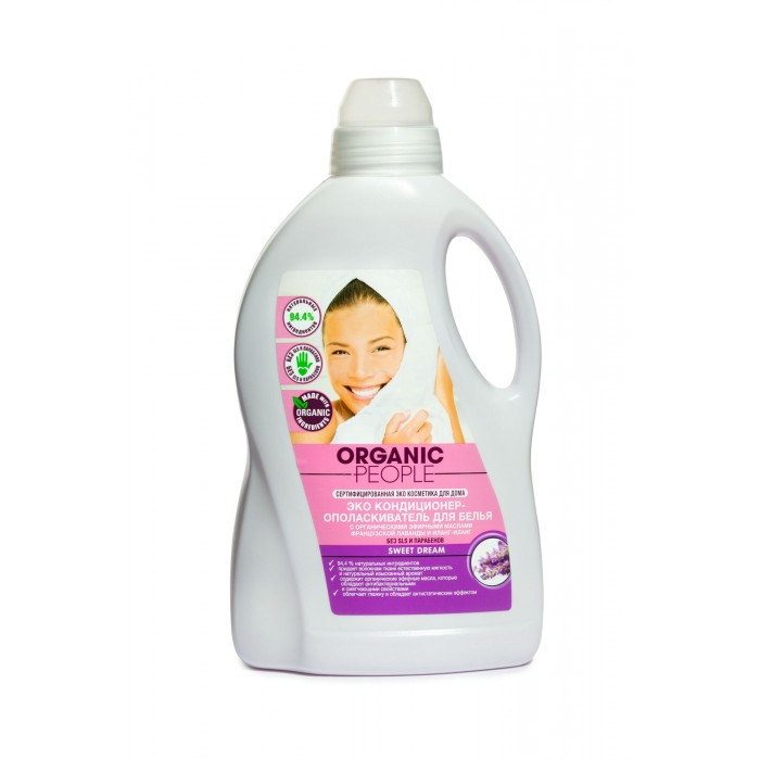 Organic People Кондиционер Эко для белья Sweet Dream 1.5 л