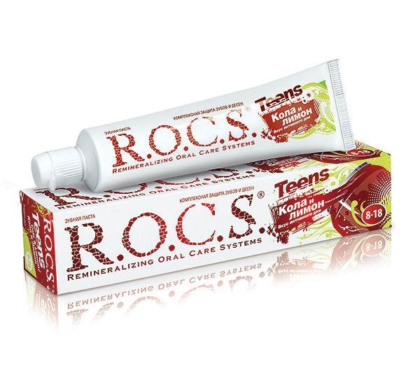 R.O.C.S. Teens Зубная паста Вкус активного дня 74 г