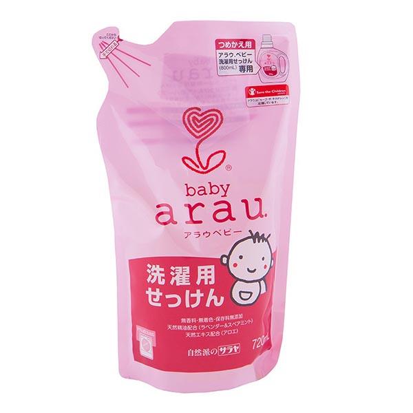 Моющие средства Saraya Arau Baby Жидкость для стирки детской одежды 720 мл (наполнитель)
