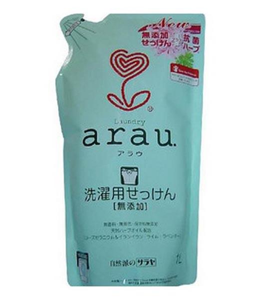 Моющие средства Saraya Arau Жидкость для стирки c ароматом Герани 1000 мл (наполнитель)
