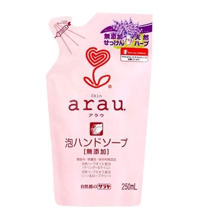 Saraya Arau Пенное мыло для рук 250 мл (наполнитель)