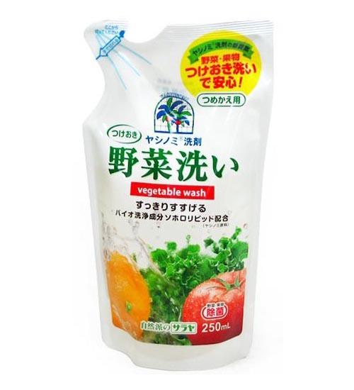 Моющие средства Saraya Yashinomi Гель для мытья овощей и фруктов 250 мл (наполнитель)