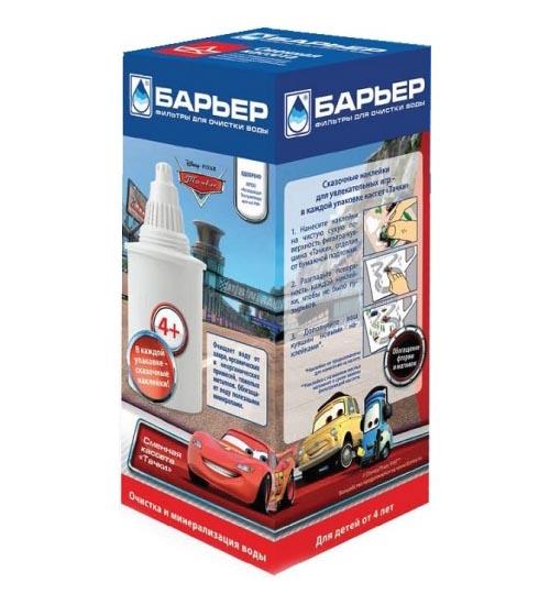 Фильтры для воды Барьер Кассета фильтрующая сменная Тачки