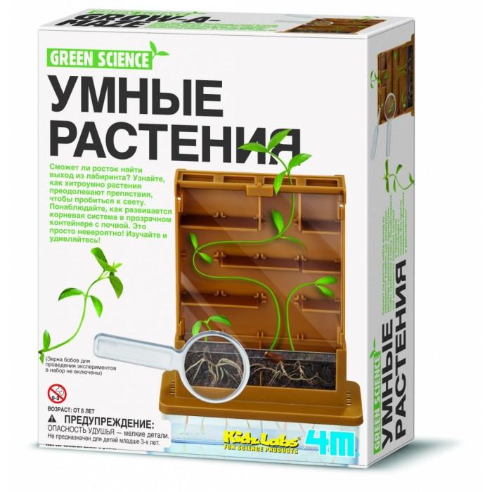 4М Умные растения 00-03352Умные растения 00-03352Умные растения 00-03352  С помощью удивительного набора 4М Умные растения ваш ребенок попробует себя в роли ботаника, который будет кропотливо выращивать бобы из самых настоящих семян! И не просто выращивать, а пускать их через настоящий вертикальный лабиринт, поражаясь тому, как они будут виться, находить лазейки и пробиваться к солнцу!   Заинтригованы? Тогда скорее приобретайте набор 4М Умные растения! Он объединит всю семью! Ведь взрослые, когда были маленькими, тоже скорее всего наблюдали за растениями в рамках школьного предмета Природоведение и записывали свои наблюдения в специальном дневнике.   В распоряжении юного ботаника окажутся пластиковые панельки, из которых он сможет самостоятельно собрать вертикальный лабиринт. Кроме того, он обзаведется держателями для ростков, которые нужно будет грамотно распределить по лабиринту.   Можно использовать любую фасоль, которая продается в продуктовых магазинах или магазинах семян! Позаботьтесь о её приобретении заранее. После сборки лабиринта, ребенок сможет с головой погрузиться в увлекательный творческий процесс по выращиванию бобовых!  Набор 4М Умные растения – это не игрушка-однодневка! А отличный набор, который поможет развить у ребенка терпение, трудолюбие, усидчивость. Приобщит его к ботанике и биологии, разовьет аккуратность, наблюдательность, экспериментаторские наклонности.  В состав набора входят: основа для крепления пластин пластиковая крышка с отверстиями панель передняя панель задняя перегородки для лабиринта длинные перегородки для лабиринта короткие держатели для ростков панель прозрачная для емкости с почвой емкость для почвы емкость для воды пипетка лупа пластины темные подробная инструкция.<br>