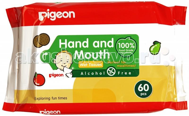 Pigeon Салфетки влажные детские 60 шт.