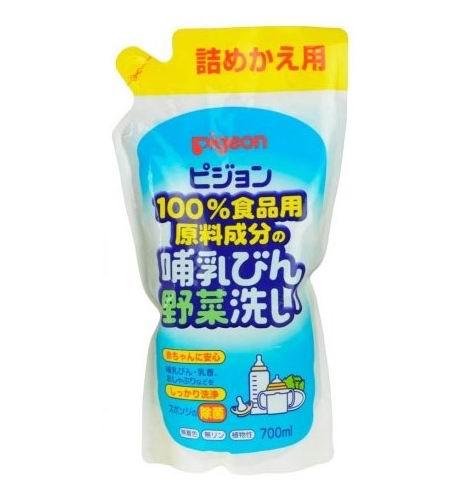 Pigeon Средство для мытья бутылочек и овощей (сменный блок) 700 мл