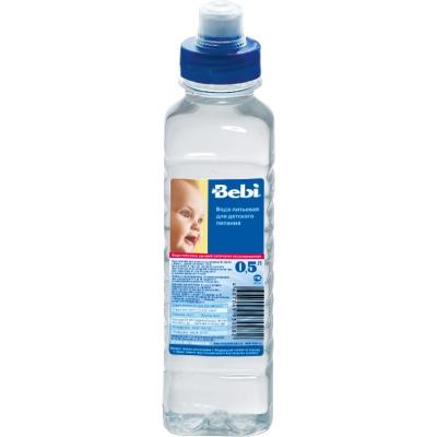 Bebi Вода детская питьевая Sport Cap с 0 мес. 0.5 л