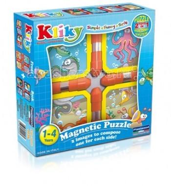 Конструктор Plastwood Kliky Puzzle Blue OceanKliky Puzzle Blue OceanPlastwood Kliky Puzzle Blue Ocean - это красочный конструктор, который предназначен для детей возрастом старше 1 года. Крупные пластмассовые детали с впаянными магнитами очень удобны для маленькой детской руки.   Эта особенность позволяет малышам конструировать быстро и легко модели различной сложности, применяя небольшое количество деталей. Игра с данным магнитным конструктором способствует развитию у детей координации, моторики и фантазию.  Возраст ребенка: 1-4 года Количество деталей: 8<br>
