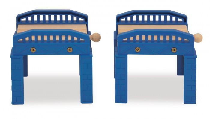 Eichhorn Два мостаДва мостаДва моста дадут вашему ребенку неограниченные варианты использования их в игре.  Помогут развить фантазию ребенка. Расширят кругозор.Сделают игру еще более увлекательной и познавательной.<br>