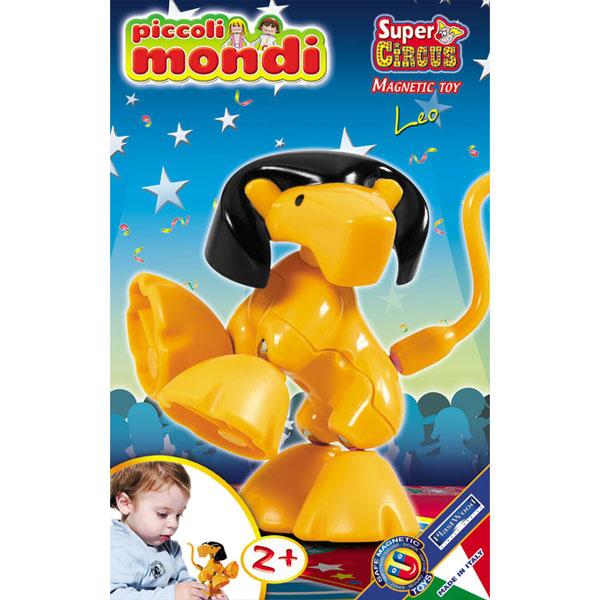 Конструктор Plastwood Piccoli Mondi Super Circus LeoPiccoli Mondi Super Circus LeoPlastwood Piccoli Mondi Super Circus Leoсодержит крупные детали, которые легко соберут самые маленькие. Играйте и развивайтесь, моделируя фигурку циркового льва.   Красочная и яркая игрушка, которая привлечет любого ребенка. Фигурка может использоваться как самостоятельная игрушка или вместе с другими животными из конструкторов Supermag.  Возраст ребенка: 2+ Количество деталей: 7  В КОМПЛЕКТЕ: Львенок.<br>
