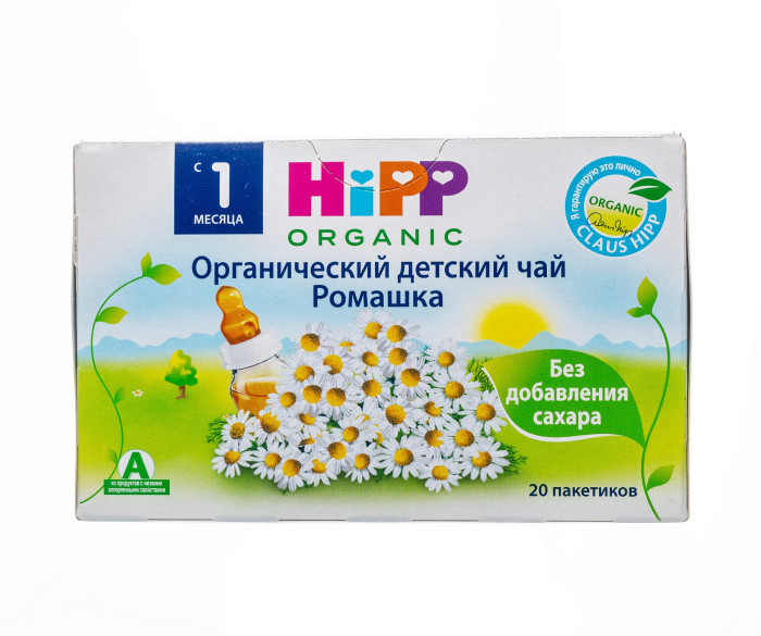 Чай Hipp Чай Ромашка с 1 мес. 30 г х 20 пак.