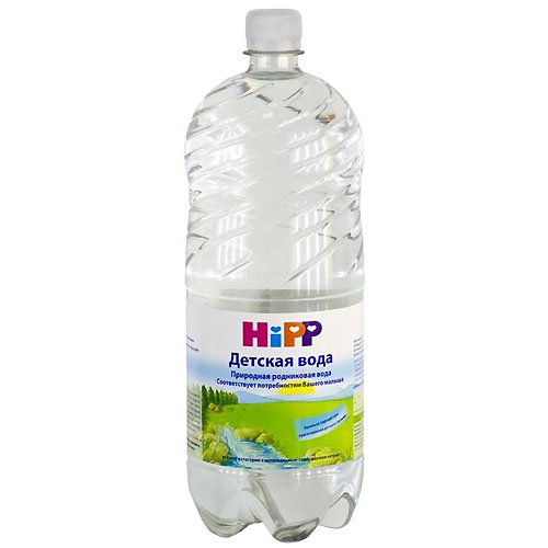 Вода Hipp Вода детская питьевая с 0 мес. 1.5 л