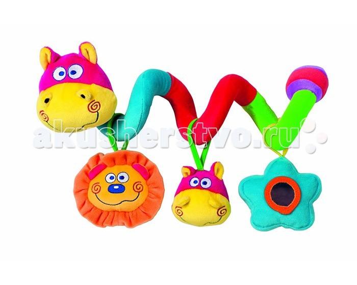 Bebe Confort ЗмейкаЗмейкаПанель с игрушками Bebe Confort Змейка – спиральная игрушка, которую можно закрепить на детской кроватке или ручке автолюльки-переноски/коляски.   Три подвесные игрушки замечательно развлекут кроху дома в кроватке или во время путешествия.  Подвеска Змейка крепится без труда. Не даст вашему ребенку заскучать. Поможет познавать мир. Улучшает воображение вашего чада, сделана из высококлассных материалов.<br>