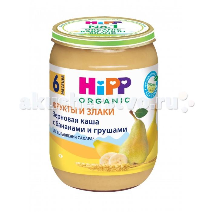 Hipp Безмолочная Зерновая каша с бананами и грушами 190 гр