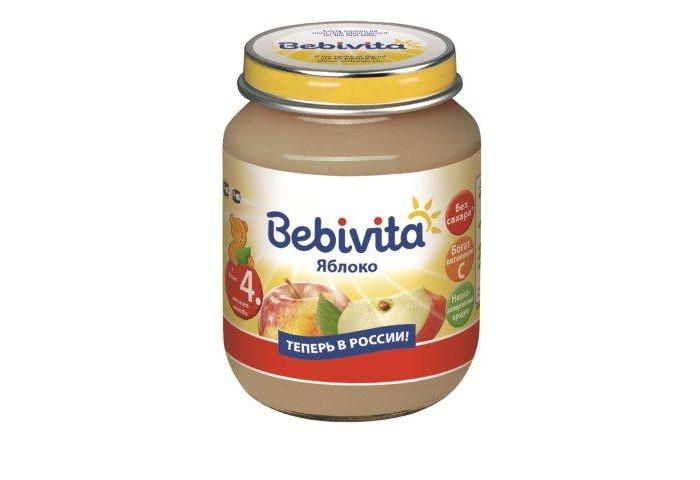 Bebivita Пюре Яблоко с 4 мес. 100 г