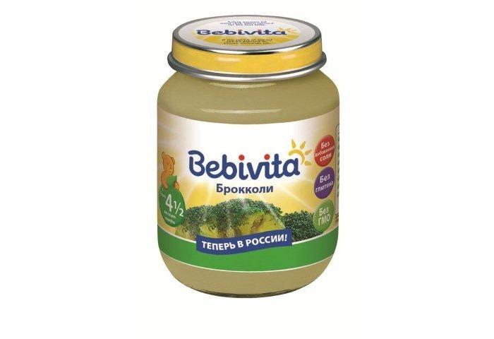 Bebivita Пюре Брокколи с 4.5 мес. 100 г