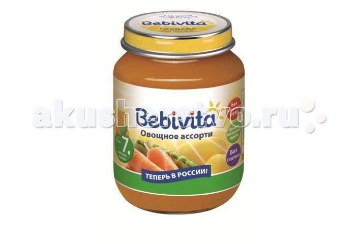 Bebivita Пюре Овощное ассорти с 7 мес. 100 г