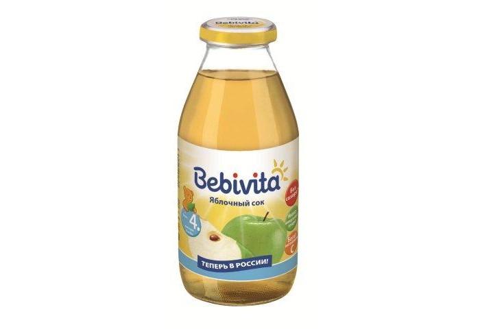 Bebivita Сок Яблочный с 4 мес.200 мл