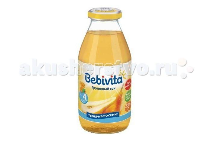 Bebivita Сок Грушевый с 4 мес.200 мл