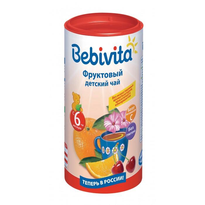 Bebivita Детский чай Фруктовый с 6 мес. 200 г