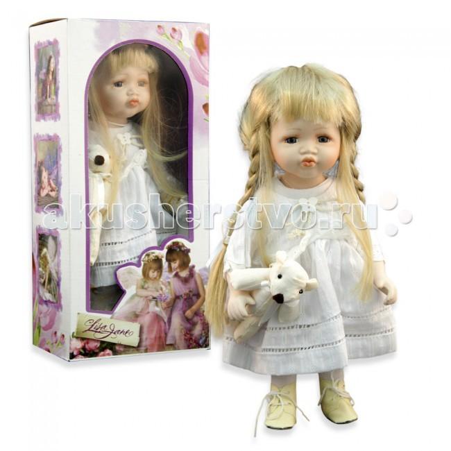 Lisa Jane Кукла фарфоровая Варя 12