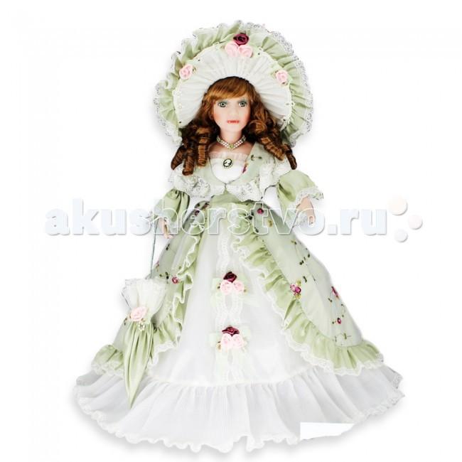 Lisa Jane Кукла фарфоровая Вилора 18 45.7 смКукла фарфоровая Вилора 18 45.7 смКукла фарфоровая Анастасия 18 45.7 см.  Фарфоровые куклы «Lisa Jane» созданы по лицензии знаменитой американской фотохудожницы Лизы Джейн. При создании кукол «Lisa Jane» дизайнеры уделяют внимание абсолютно всем частям тела, каждая деталь играет важную роль в создании образа: изящный фарфор, миловидное лицо, великолепный наряд.  У кукол «Lisa Jane» очень нежный, немного бледный оттенок кожи, глаза сделаны очень натуралистично, изготавливаются они специально из безопасного пластика.   Все куклы имеют индивидуальные цвет и радужную оболочку глаз.  Отдельное внимание уделяется пушистым ресницам, волосам кукол и прическе. Куклы настолько индивидуальны, что у каждой свое неповторимое имя.  Высота куклы: 45.7 см<br>
