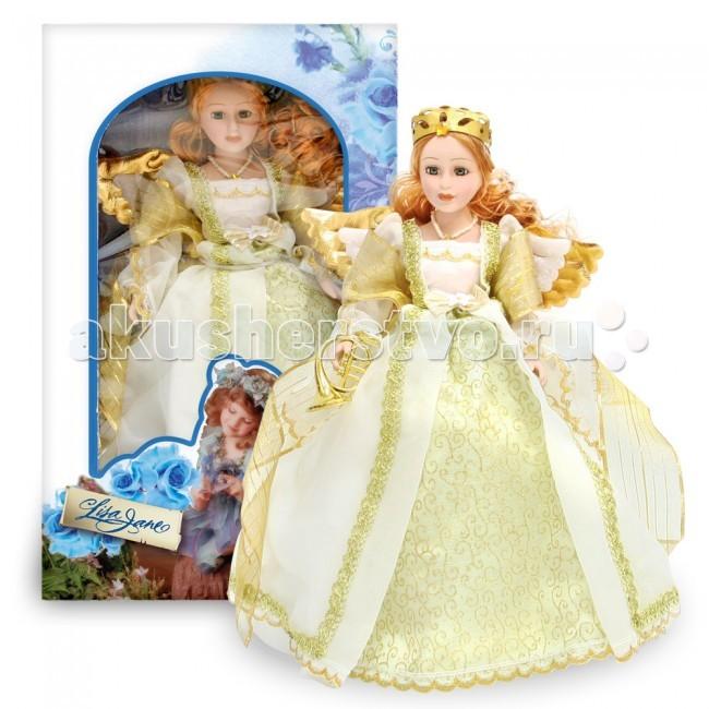 Lisa Jane Кукла фарфоровая Монна 12