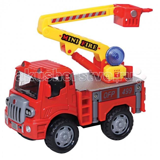 Driver Машина Грузовик-автовышка пожарный 1:60 22613Машина Грузовик-автовышка пожарный 1:60 22613Машина Грузовик-автовышка пожарный инерционный (металлическая кабина).  Масштаб модели - 1:60.  Эксклюзивная серия грузовичков ТМ «Drift»:  1– это уникальные металлические машинки, копии строительной, дорожной техники,  выполненные в масштабах 1:50, 1:60, оснащенные инерционным механизмом,  со световыми и звуковыми эффектами;  2 – это спецтехника, выполненная из пластмассы с инерционным механизмом  или на радиоуправлении, со световыми и звуковыми эффектами.  Абсолютно у всех грузовичков есть подвижные детали, что немаловажно для маленького исследователя взрослого мира!  Широкая линейка, интересный функционал, превосходное качество – это еще не все преимущества спецтехники ТМ «Drift».<br>