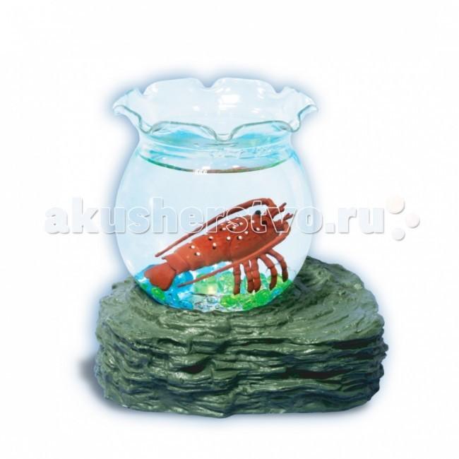 УникУМ Набор аквариум с 1 ракомНабор аквариум с 1 ракомНабор аквариум с 1 раком.   Аквариум привлекает внимание и детей, и взрослых своей красочностью и наглядностью «подводного мира».   Секрет игрушки - в подставке на магните, которая постепенно притягивает и отталкивает ярких рыбок, помещенных в аквариум. Они умеют опускаться на дно и всплывать наверх! Плавают как настоящие! Все, что для этого нужно - вставить батарейки в подставку, налить воду в емкость, - и жизнь в аквариуме «оживает».  Игрушка-новинка ТМ «Уникум» развивает воображение, веселит малышей и знакомит их с окружающим миром.<br>