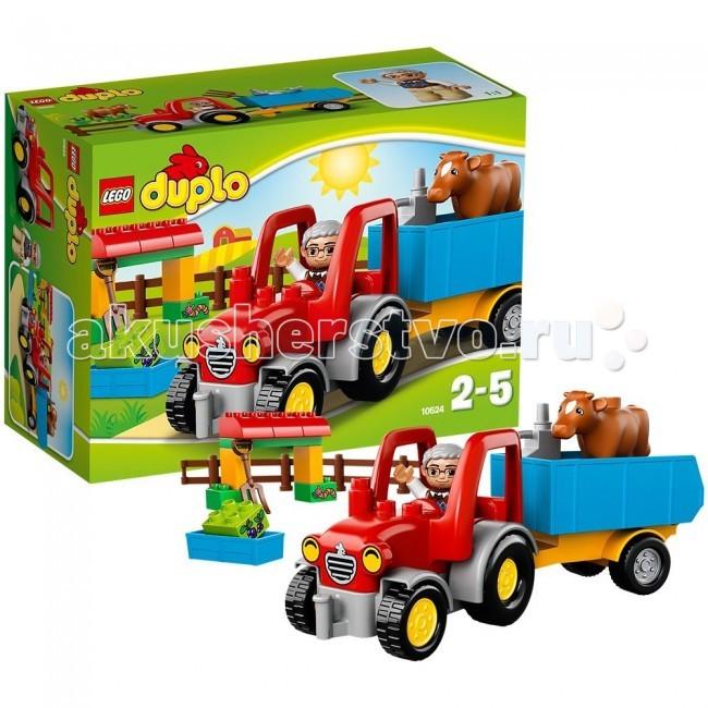 Конструктор Lego Duplo 10524 Лего Дупло Сельскохозяйственный трактор