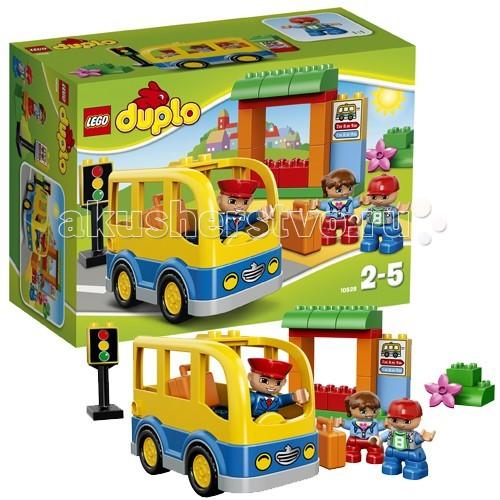 Конструктор Lego Duplo 10528 Лего Дупло Школьный автобус