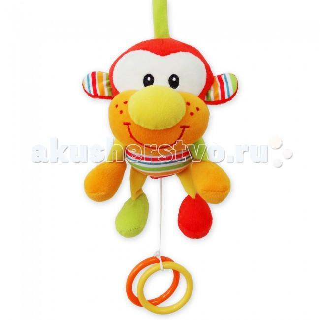 Подвесная игрушка MAPA baby Обезьянка музыкальная