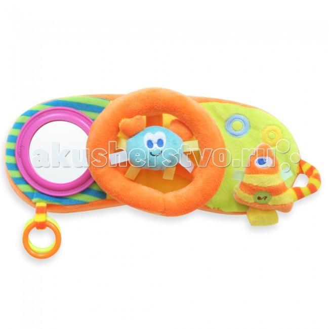 Развивающая игрушка MAPA baby Руль с пищащими элентами 13629Руль с пищащими элентами 13629Развивающая игрушка Руль с пищащими элентами, зеркалом, музыка, свет.  MAPA BABY – это развивающие игрушки для самых маленьких, которые приносят в каждый дом яркие краски детства, первые улыбки малышей, нежную заботу любящих родителей.  ТМ MAPA baby - это широкая линейка наименований и постоянно пополняемый ассортимент.   Все игрушки изготовлены из качественных материалов с использованием новых технологий, и привлекают к себе не только своей текстурой и цветовой гаммой, но и способностью развития малышей: их моторики, слуха, зрения, координации движений.  С самого рождения игрушки MAPA BABY знакомят маленького человека с окружающим миром и создают атмосферу любви, которая так необходима ему для полноценного роста!  Размеры: 28 х 13 х 7 см<br>
