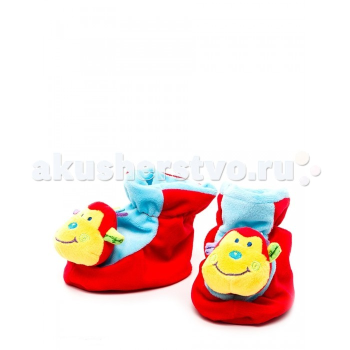 Обувь и пинетки MAPA baby Пинетки Обезьянка 25836