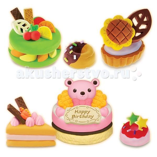 Лавка Чудес Набор для лепки Праздничный торт
