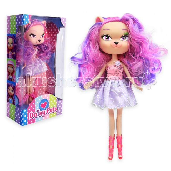 """Daisy Кукла Жюли 27 см 30124Кукла Жюли 27 см 30124Кукла Жюли, 27 см, в коробке   ТМ """"Daisy"""" – это уникальная линейка кукол, которые совмещают в себе все самые актуальные и модные тенденции: здесь Вы найдете и кукол-принцесс в нарядных платьях, и нежных, дружелюбных кукол-цветочков, и милых кукол-фэнтези с питомцами. Куклы предназначены для детей от 3х лет. Широкий ассортимент и отличное качество – вот наши преимущества! Каждая девочка выберет куклу на свой вкус!<br>"""