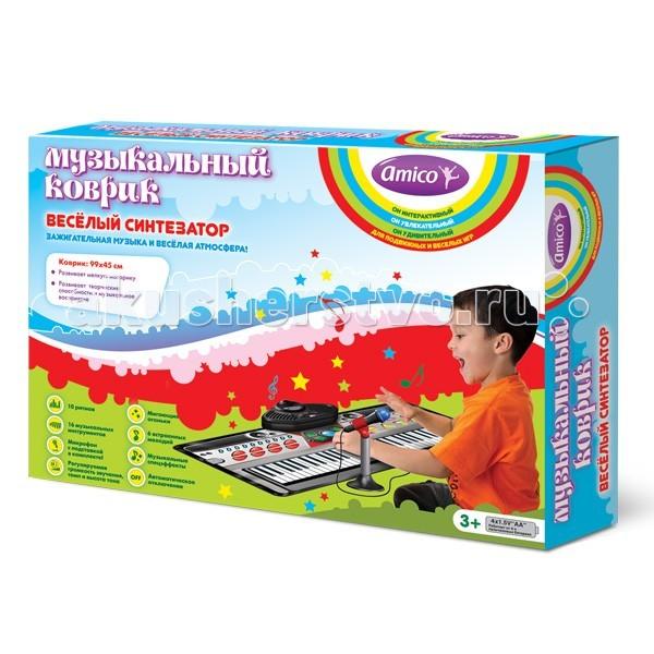 Игровой коврик Ami&Co (AmiCo) Веселый синтезатор 20606