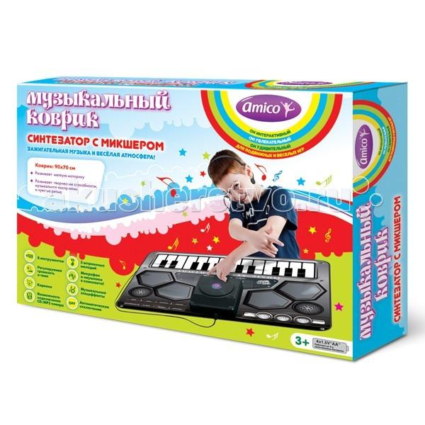 Игровой коврик Ami&Co (AmiCo) Синтезатор с микшером 20598