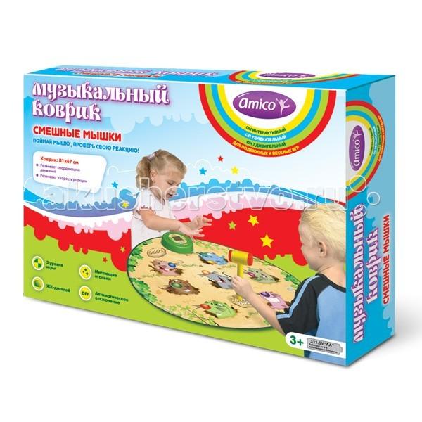 Игровой коврик Ami&Co (AmiCo) Смешные мышки 20591