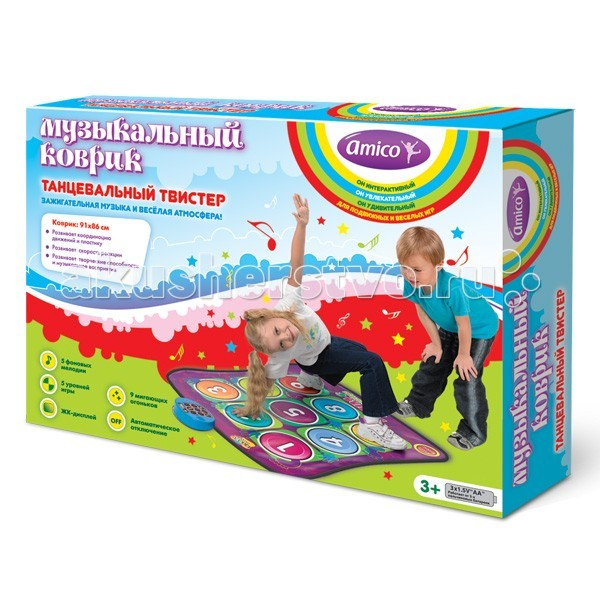 Игровой коврик Ami&Co (AmiCo) Танцевальный твистер 20594