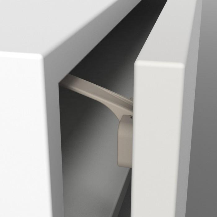 Safe&amp;Care Блокировка дверей универсальная, 2шт.Блокировка дверей универсальная, 2шт.Блокировка дверей универсальная Safe&Care на клейкой основе для ящиков и дверец, 2 шт - блокиратор ящиков и дверей шкафов. Предотвратит нежелательные проверки содержимого ящиков и шкафов, а также убережет пальчики малыша. В момент закрывания замок автоматически приходит в рабочее положение.    Особенности:    Крепление на клеевой основе (при помощи двухстороннего скотча – входит в комплект);  Имеет эргономичный современный дизайн;  Имеет двойной замок для дополнительной безопасности;   Размещается в ящиках, и дверцах шкафах и комодах;  Включает детали для установки «по прямой» и «под углом»   Простота установки;   Прочная акриловая лента легко удаляется после эксплуатации;   Соответствует EN 71 и GSFHSP 10.09.2009;  Подходит для детей до 24-месячного возраста.   Материал - пластмасса  Инструкция: Наилучшее сцепление с поверхностью происходит через 24 часа. Рекомендуется в течение этого времени не проверять сцепление! Для того чтобы снять замок, приподнимите его. Возможно, потребуется использование ножа с закругленным концом, будьте осторожны, чтобы не повредить поверхность. Осторожно удалите клеящий состав с поверхности. Остатки клея можно стереть. Если все сделано правильно, то следов не останется. Тем не менее, если следы остались, то Вы можете воспользоваться соответствующим растворителем.<br>
