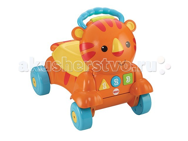Ходунки Fisher Price каталка Тигренок