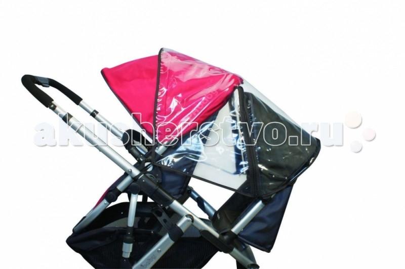 Дождевик UPPAbaby для второго сидения Vista 2014для второго сидения Vista 2014Аксессуар предназначен для модели Vista 2014  Необходимый аксессуар, который всегда надо иметь при себе в непредсказуемую погоду.  Боковые отверстия обеспечат максимальную вентиляцию Прочный материал: ультра-премиум винил Легко поддается чистке<br>