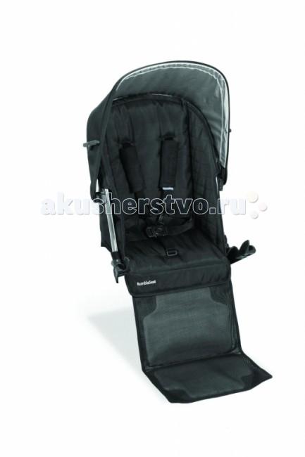 Прогулочный блок UPPAbaby Дополнительное сиденье RumbleSeatДополнительное сиденье RumbleSeatАксессуар предназначен для модели Vista  Коляску UPPAbaby Vista можно использовать, как коляску для двоих детей при наличии дополнительного сиденья. Предназначен для детей возрастом от 6 месяцев до 15.8 кг.  Установка и снятие за 10 секунд без использования дополнительных инструментов. (Дополнительное сиденье RumbleSeat необходимо снять перед тем, как сложить коляску) Возможно одновременное использование с прогулочным блоком, подножкой-скейтом PiggyBag (не может быть использована в сочетании с люлькой для новорожденного) 5-ти точечные ремни безопасности Съемный капор Корпус из облегченного алюминия  Вес: 2 кг.<br>